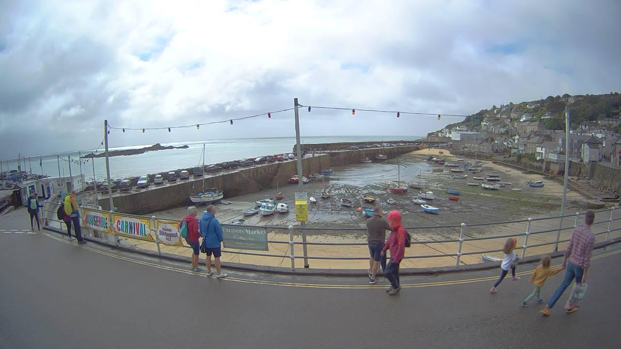 Mousehole harbour webcam | Aspects Holidays
